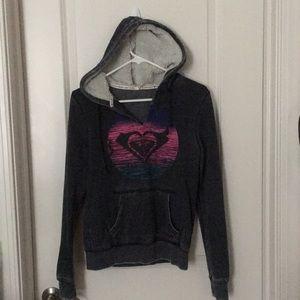 Roxy hooded sweatshirt NWOT